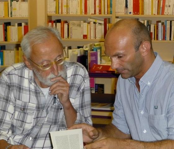 Antonio Moresco e Laurent Lombard - La Bibliothèque italienne