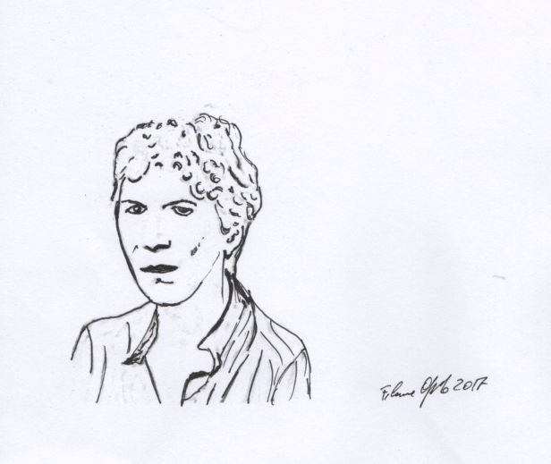 Natalia Ginzburg. Illustration de Filomena Oppido