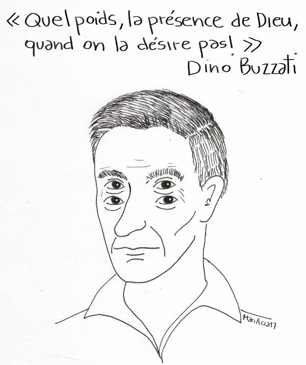 Dino Buzzati, Accardi - La Bibliothèque italienne