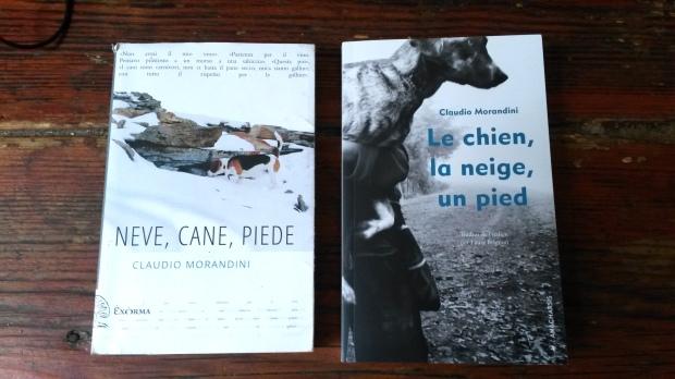 La neige, le chien, un pied- La Bibliothèque italienne.jpg