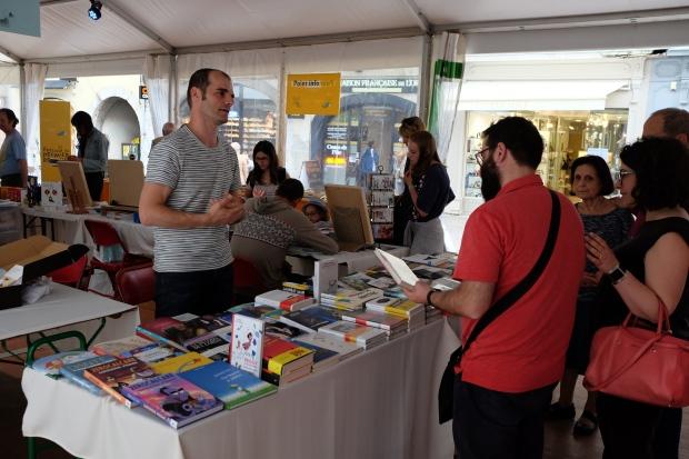 Festival de Chambéry, La Bibliothèque italienne- .JPG